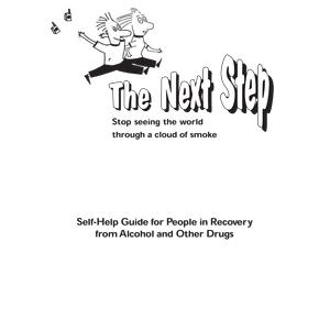 The Next Step Stop Smoking Guide for People in Recovery Booklet