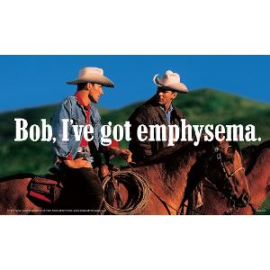 Bob, I've Got Emphysema Poster