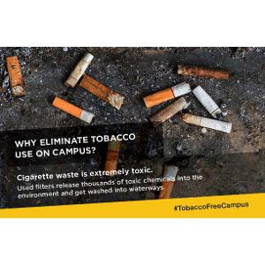 Tobacco Free College Campus Card