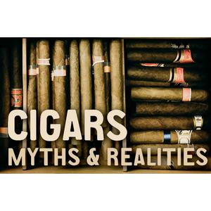 Cigar Myths & Realities Card (Military)