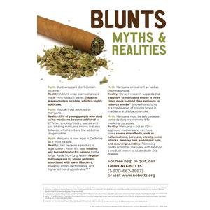 Blunts Myths & Realities Poster