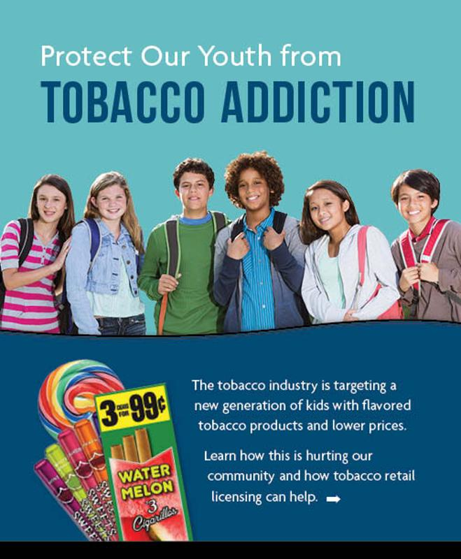 Tobacco Retail Licensing (Protect Our Youth)
