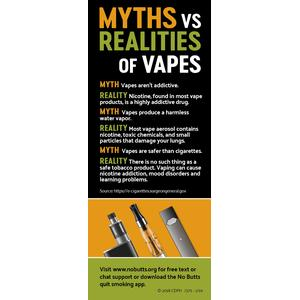 Vape Myths Fact Card