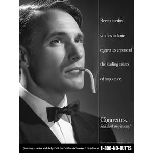 Cigarettes. Still Think They're Sexy? Poster