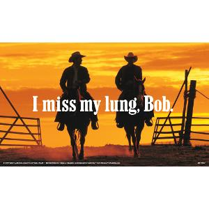 I Miss My Lung, Bob Poster