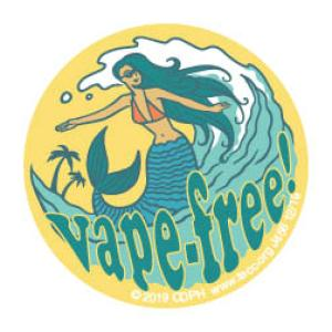 Vape-free Sticker - Mermaid
