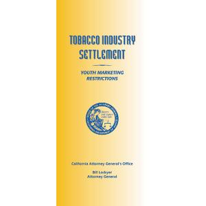 Tobacco Industry Settlement/Youth