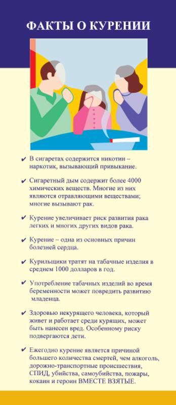 Facts About Smoking - English/Russian