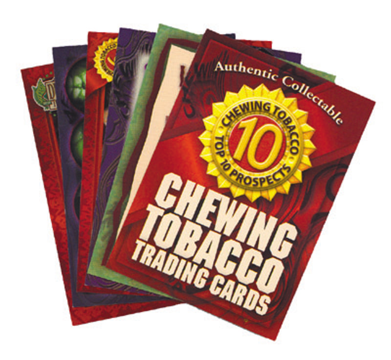 Chewing Tobacco Trading Cards