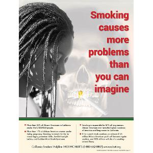 Smoking Causes More Problems Than You Can Imagine - Poster