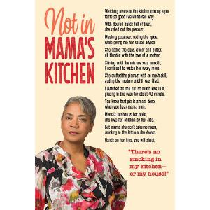 Not in Mama's Kitchen - Postcard