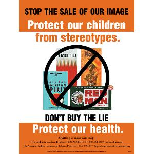 Stop the Sale of Our Images - Poster