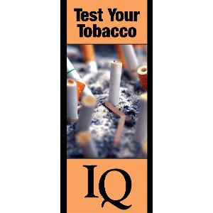Test Your Tobacco IQ – Brochure