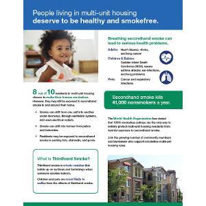 Support Smokefree MUH Housing Fact Sheet