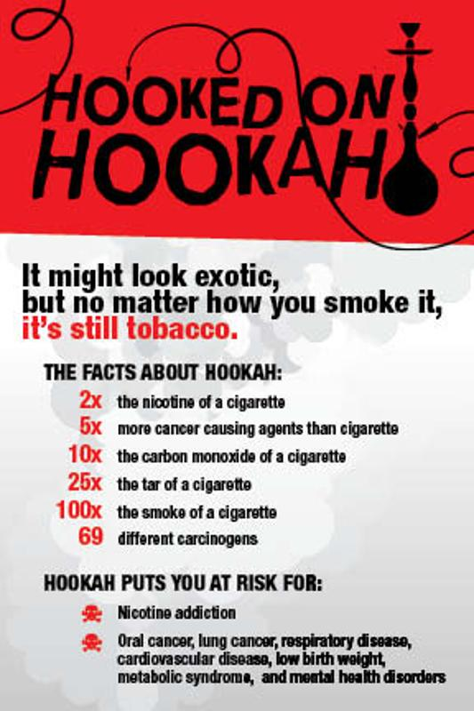 Hooked on Hookah? / Fact Card