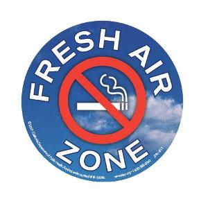 Fresh Air Zone – Sticker