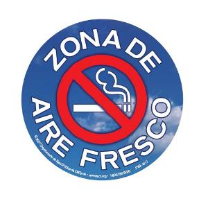 Zona de Aire Fresco - Sticker