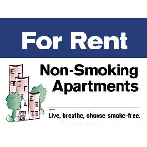 For Rent Non-Smoking Apartments