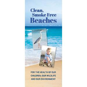 Clean, Smoke-Free Beaches - Brochure
