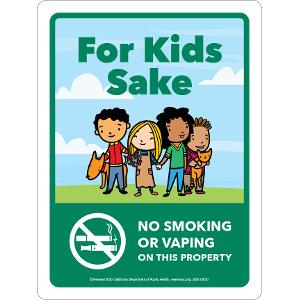 For Kids Sake – Aluminum Sign