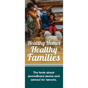 Healthy Homes, Healthy Families / Brochure