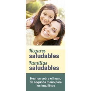 Healthy Homes, Healthy Families / Brochure- Spanish