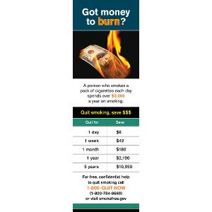 Got Money to Burn? – Bookmark (National)