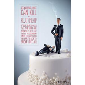 Wedding Cake - Grooms - Postcard