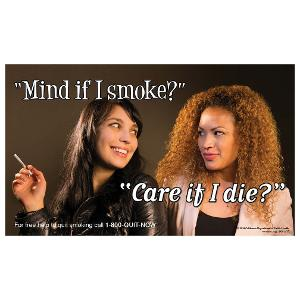 Mind if I Smoke - Girlfriends - Poster