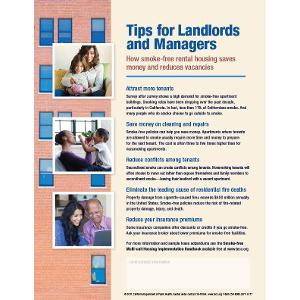 Tips for Landlords and Managers