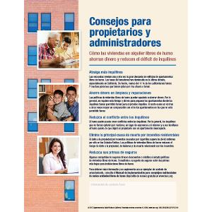 Tips for Landlords and Managers – Spanish