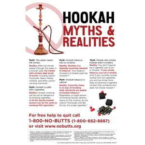 Hookah Myths and Realities Poster
