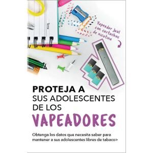 Protect Your Teens from Vapes, Spanish