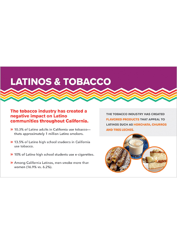Latinos and Tobacco factsheet
