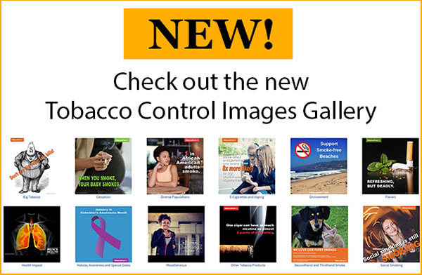 NEW: Tobacco Control Gallery
