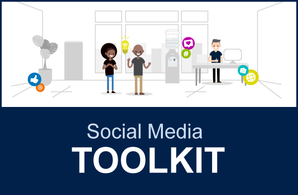 Social Media Toolkit button
